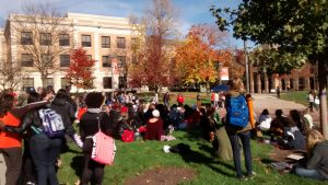 Sit-in at BGSU